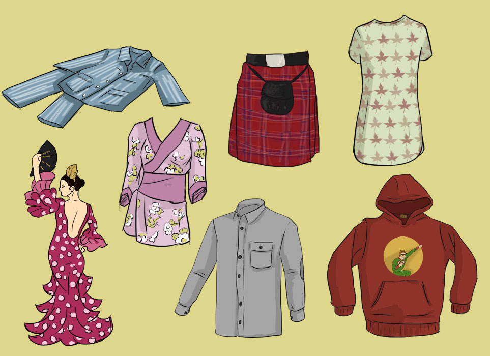 clothes adjectives 2 patterns