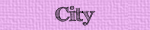 City vocabulary